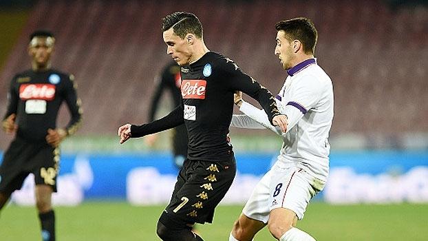 Copa da Itália: Gol de Napoli 1 x 0 Fiorentina