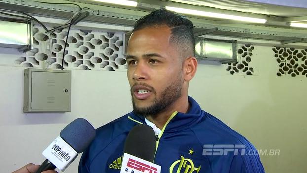 Geuvânio aposta em evolução do Fla, fala sobre preferência em posição para atuar e projeta jogo contra o Corinthians