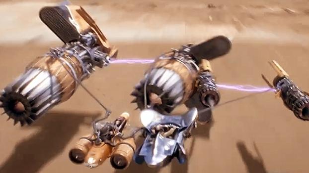 Everaldo Marques narra disputa entre Anakin Skywalker e Sebulba em corrida de Pod Racers