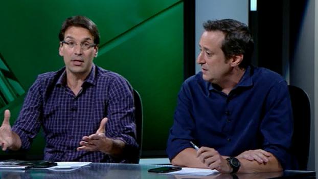Debate sobre 'perfil de Libertadores' gera discordância entre Gian Oddi e Arnaldo Ribeiro; veja