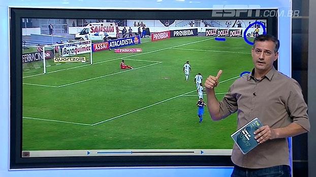Sálvio analisa origem da jogada e aponta: 'Gol do Corinthians foi irregular'