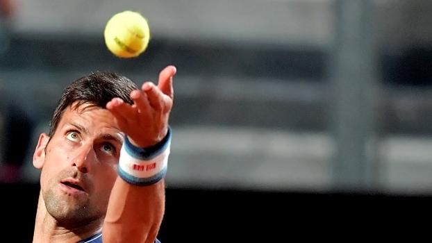 Chuva paralisa confronto entre Djokovic e Del Potro em Roma