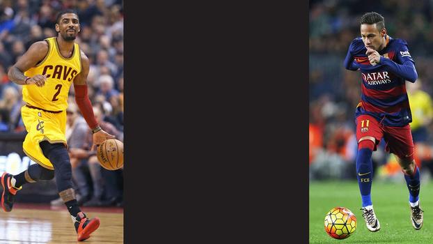 Idade, títulos e objetivos: o que os 'coadjuvantes' Neymar e Kyrie Irving têm em comum?