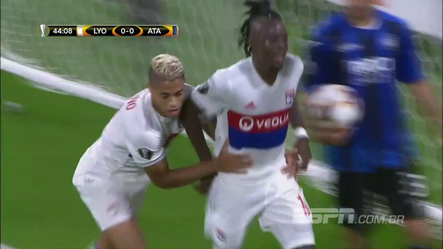 Veja os gols do empate entre Lyon 1 x 1 Atalanta