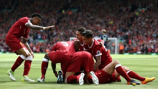 Confira os melhores momentos da vitória do Liverpool sobre o Middlesbrough por 3 a 0