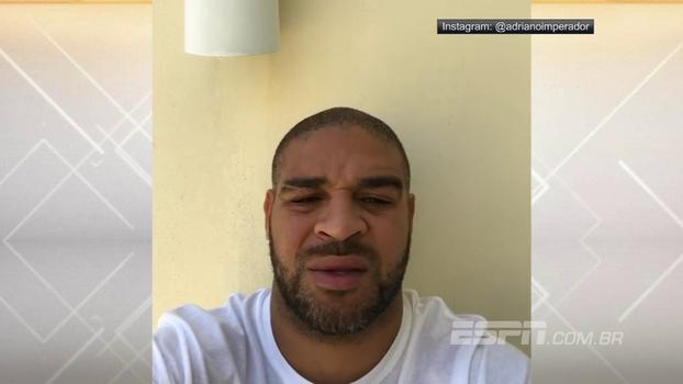 'Vou processar todos vocês': Adriano desabafa após foto com traficante da Rocinha