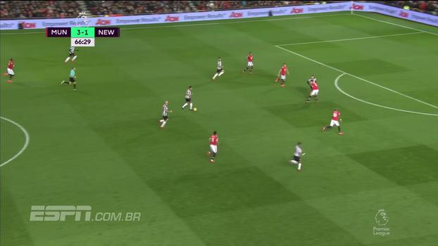 Tempo real: DE GEA! Goleiro espanhol faz bela defesa em chute do Newcastle