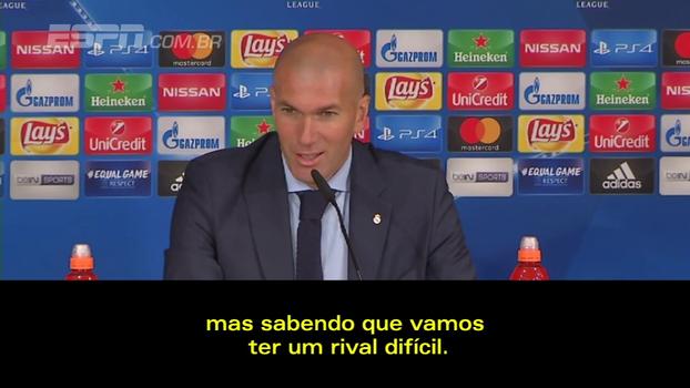 Classificado em segundo lugar no grupo da Champions League, Zidane vê pausa como positiva e fala sobre sorteio de adversário