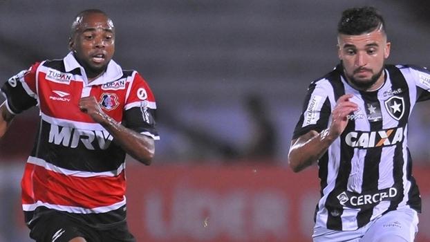 Brasileiro: Gol de Santa Cruz 0 x 1 Botafogo