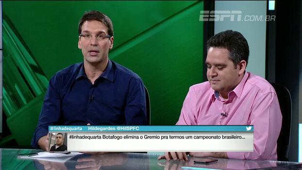 Arnaldo analisa empate entre Botafogo e Grêmio e destaca atuação de Arthur