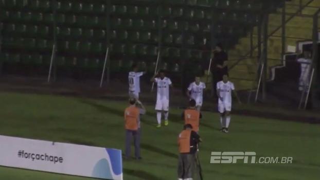Primeira Liga: Gol de Figueirense 0 x 1 Londrina
