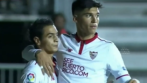 Promessa faz hat-trick e Sevilla goleia pela Copa do Rei