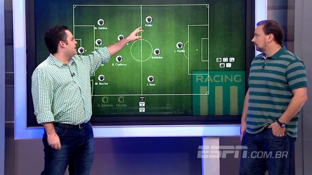 Sem Dátolo, como jogará o Atlético-MG? E as opções ofensivas do Racing? Dupla BB analisa