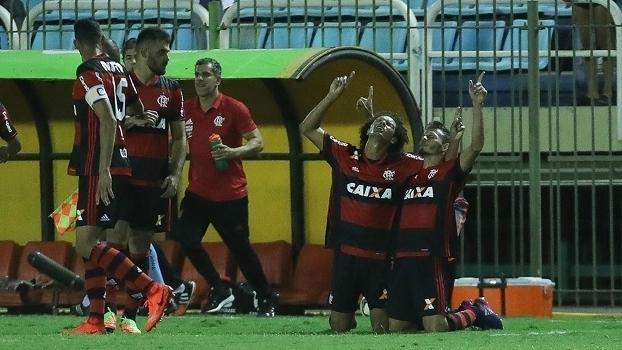 Assista aos gols da vitória do Flamengo sobre o Bangu por 3 a 0!