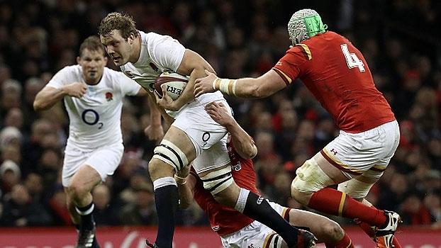 Assista aos lances da vitória da Inglaterra sobre Gales por 21 a 16!