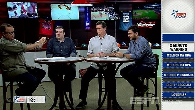 'ESPN League' seleciona melhores escolhas e classes dos Drafts da NBA e NFL