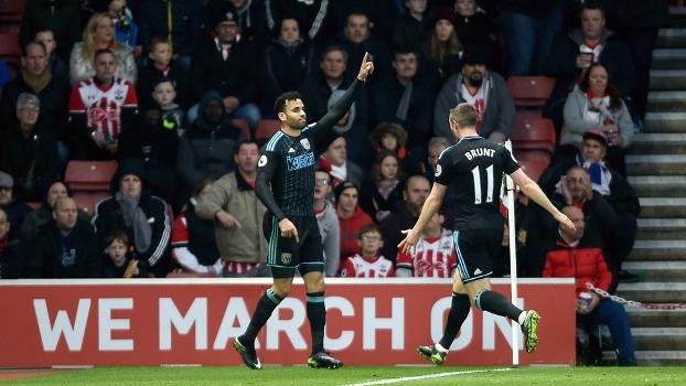 Assista aos gols da vitória do West Brom sobre o Southampton