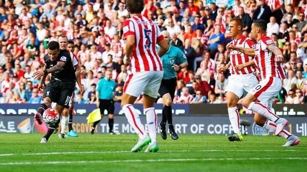 Ingles Gol De Stoke City  Liverpool