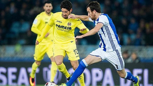 Willian José faz o dele e abre caminho para a vitória da Sociedad contra o Villarreal