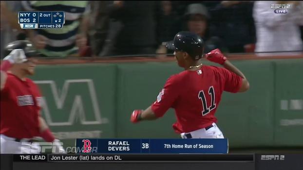 De virada, Red Sox vencem Yankees no fim e disparam na liderança da divisão