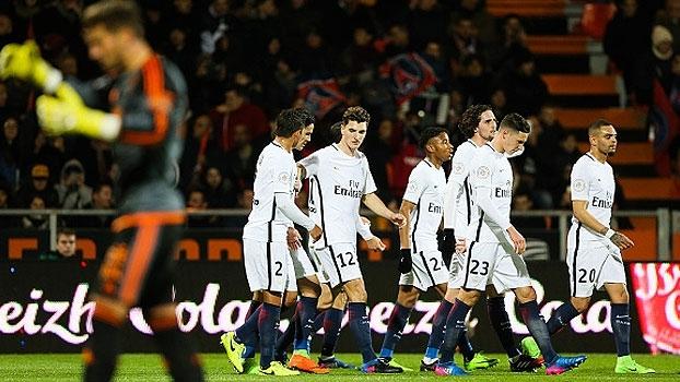 Francês: Gols de Lorient 1 x 2 Paris Saint-Germain