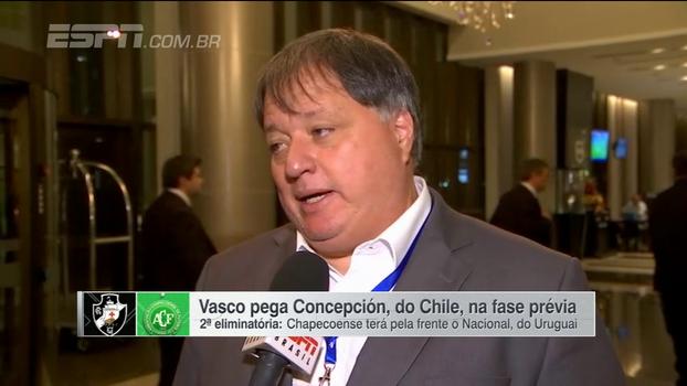Gerente de futebol do Vasco, Anderson Barros aposta em classificação
