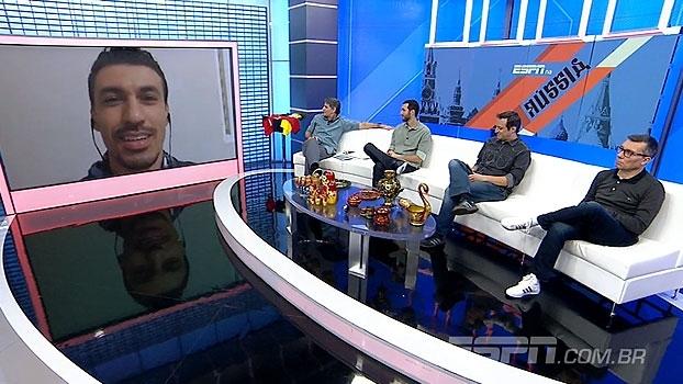 Xandão alerta sobre postura de polícia russa e revela sondagem do Vasco: 'Falaram sobre tempo de contrato'