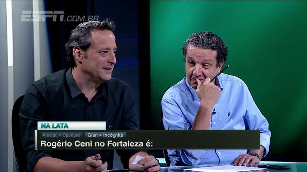 Rogério Ceni no Fortaleza é...? Gian vê como incógnita e explica: 'Se o time não der certo, o foco ficará no Ceni'