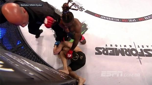 Filho de Kimbo Slice nocauteia DJ Griffin e vence pela primeira vez no MMA profissional