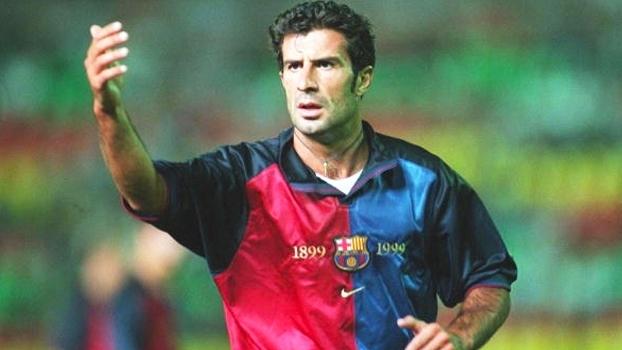 Vitória do Barça sobre o Alavés em 99 teve golaço de Figo, assistência de Rivaldo e título