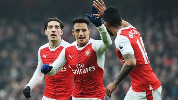 Final de semana da Premier League teve gols de Sánchez e Mané, empate do Chelsea e mais