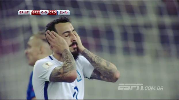 Veja os melhores momentos de Grécia 0 x 0 Croácia