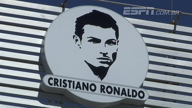 Aeroporto Cristiano Ronaldo : Que moral hein cristiano ronaldo é homenageado com
