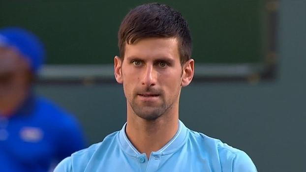Eliminado! Djokovic perde para Nick Kyrgios e dá adeus em Indian Wells