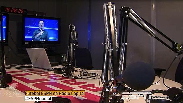 ESPN está de volta ao dial, na parceria com a Rádio Capital AM - 1040; veja os bastidores da 1ª transmissão