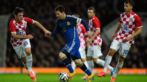 Amistoso Internacional Gols De Argentina  Croacia