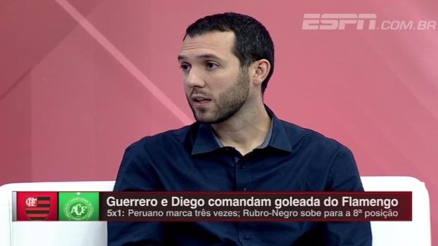 Cuéllar ou Arão? Hofman analisa escolha de Zé Ricardo para jogo contra a Chapecoense