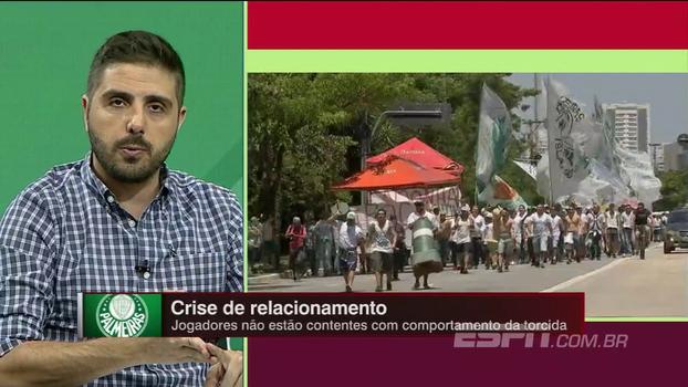 Nicola vê divisão no grupo do Palmeiras em relação ao torcedor: 'A Mancha não representa os 27 mil'