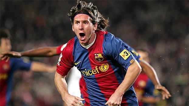 Há exatos 10 anos, contra o Real Madrid, Messi fazia seu 1º hat-trick da carreira
