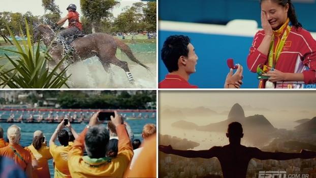 De cinema! Confira as melhores e mais emocionantes imagens da Olimpíada do Rio