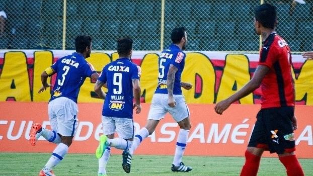 Brasileiro: Gol de Vitória 0 x 1 Cruzeiro
