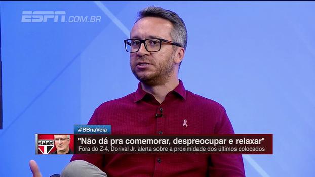 Maurício Barros comenta possibilidade da troca Walter por Reinaldo