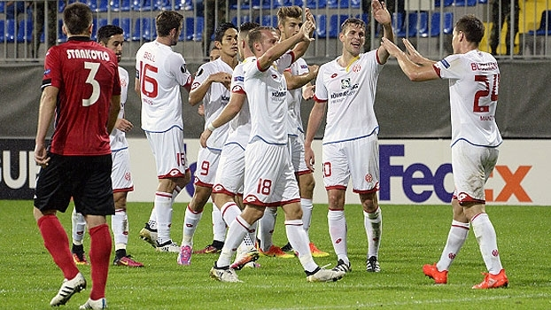 Liga Europa: Gols de Qabala 2 x 3 Mainz