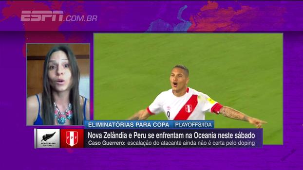 Ivi Pozo, jornalista peruana, fala de Guerrero e sobre o país buscar vaga no Mundial: 'Expectativas altíssimas'