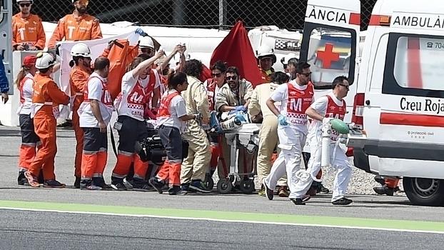 Imagens fortes: Veja o momento do acidente que resultou na morte do piloto Luis Salom da Moto2
