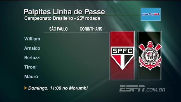 Veja os palpites do 'Linha de Passe' para a 25ª rodada do Brasileiro