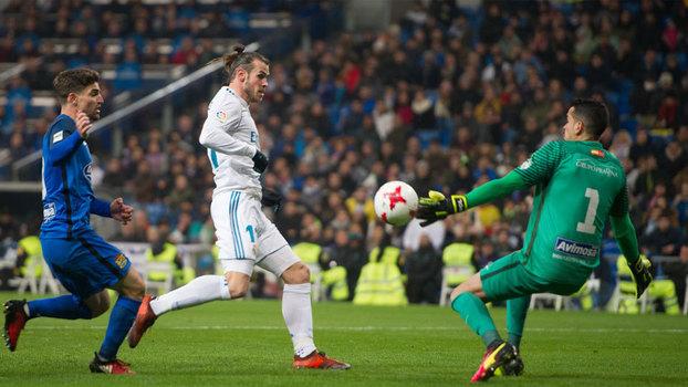 Assista aos gols do empate entre Real Madrid e Fuenlabrada em 2 a 2