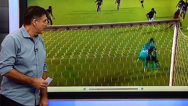 Zetti destaca forma como Sidão 'ataca a bola' e elogia: 'Fecha muito bem o ângulo'