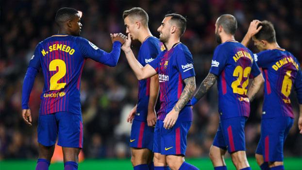 Copa do Rei: Gols de Barcelona 5 x 0 Real Murcia