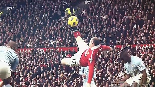 Rooney é o maior artilheiro da história do Man. United; relembre alguns golaços do craque
